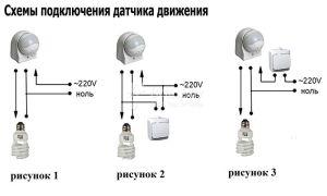 Применение датчиков движения для включения света