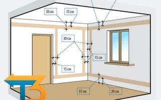 Разводим электропроводку в частном доме своими руками