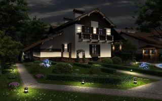Наружное освещение зданий и территорий