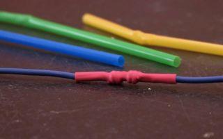 Кембрики для изоляции соединений проводов
