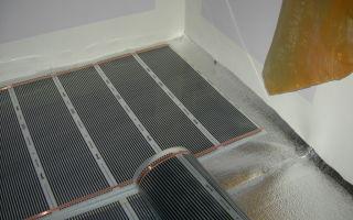 Особенности монтажа инфракрасного теплого пола под ламинат, плитку, линолеум