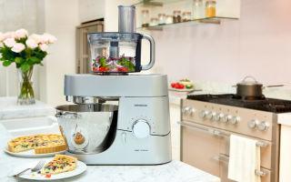 Как правильно выбрать кухонный комбайн для дома