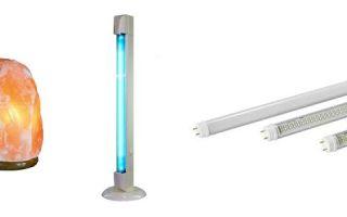 Солевая, кварцевая и другие виды ламп польза и вред