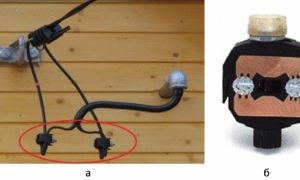 Соединение сип между собой и с медным кабелем