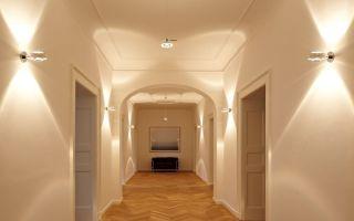 Организация освещения в коридоре